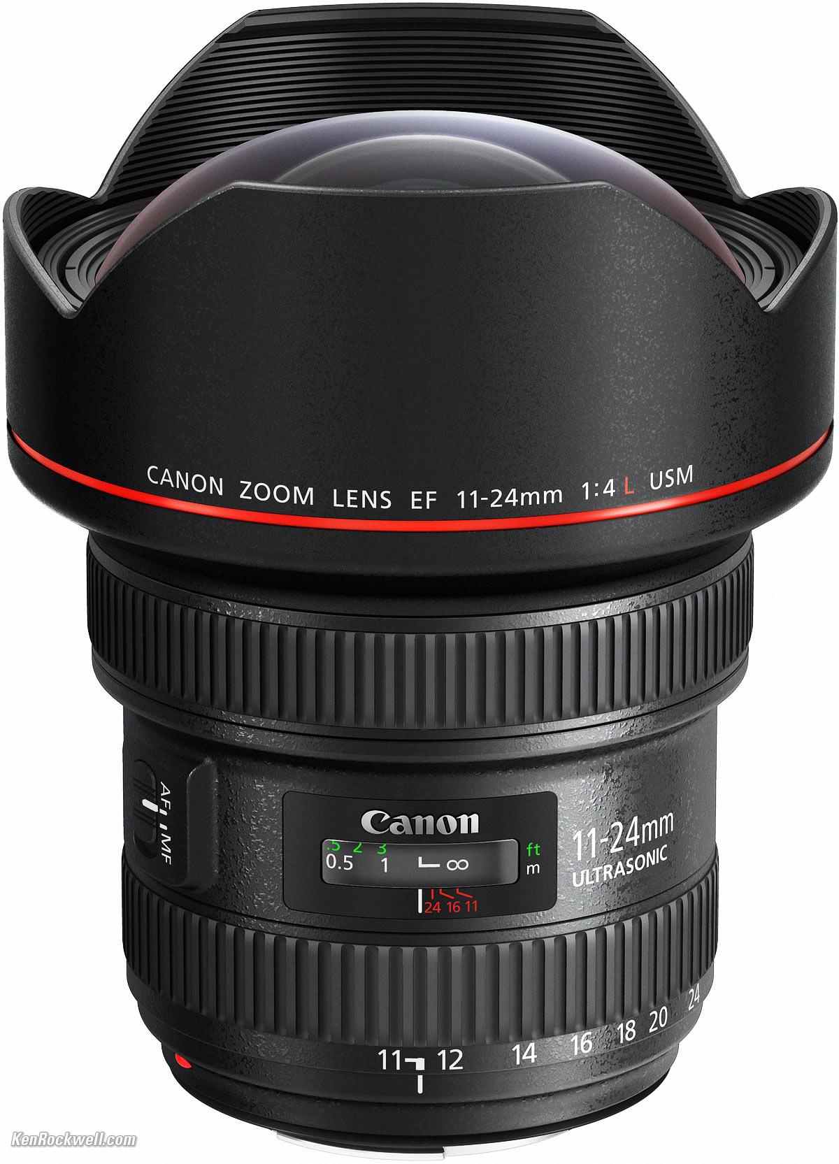 CANON 11-24 MM LENS F/4 L Image