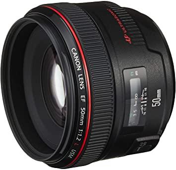 Canon Lens EF 50mm f/1.2 L USM Image
