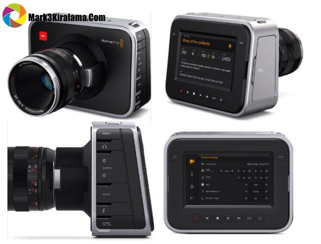 Kiralık Blackmagic Sinema Kamerası 2.5 K Image