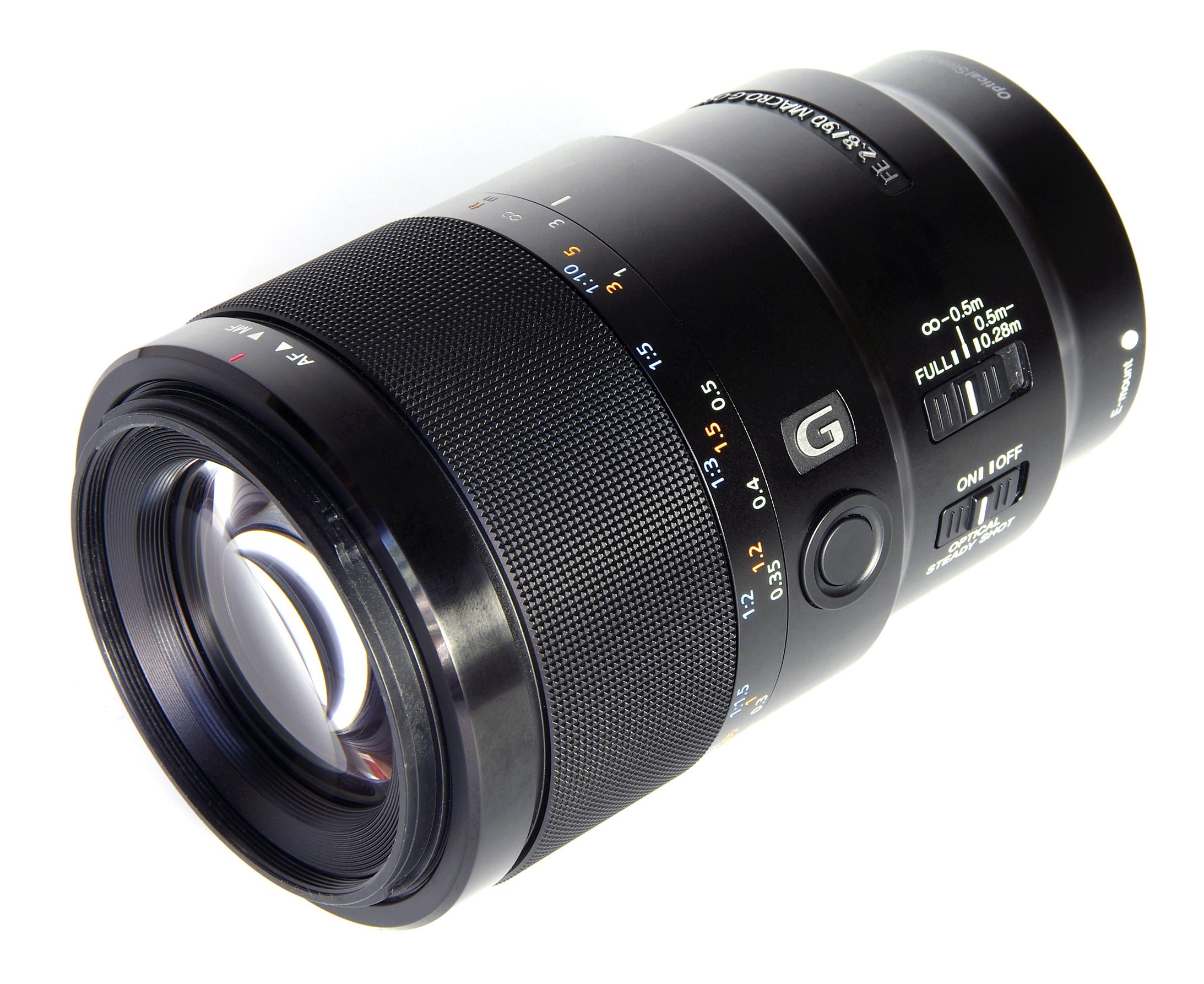 Sony FE 90mm f/2.8 Macro G OSS Lens Image