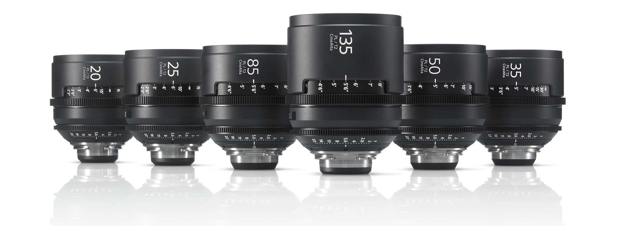 Sony CineAlta 4K Lens Seti (PL Mount) Image