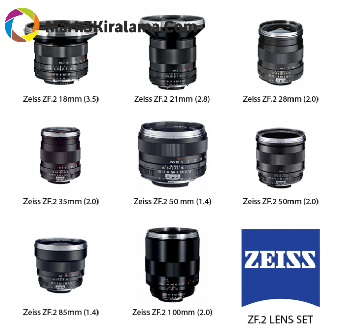 Carl Zeiss Lens Seti Image