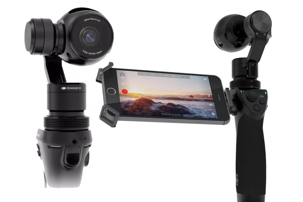 DJI Osmo - Gimbal ve Kamera Seti Image