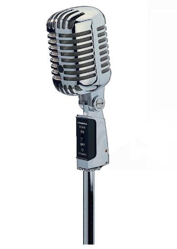Nostaljik Mikrofon Image